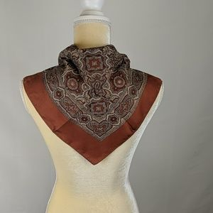 Vintage Liberty of London Paisley 100% Silk Scarf